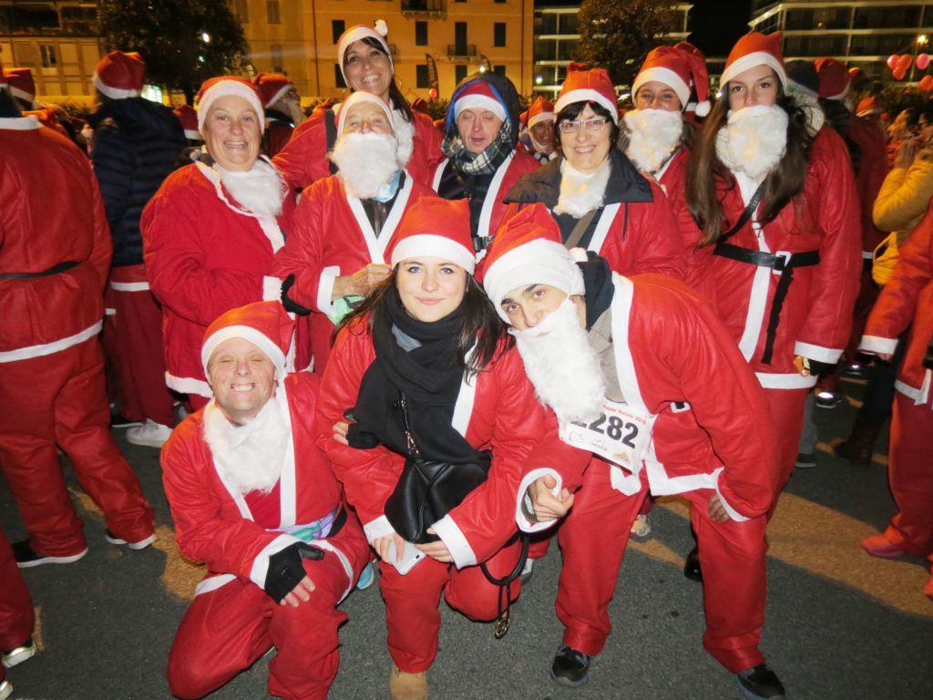 Corsa dei Babbi Natale 2016