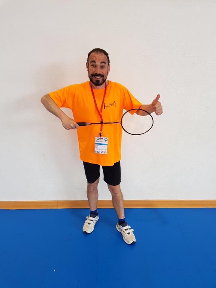 Francesco Guastamacchia badminton