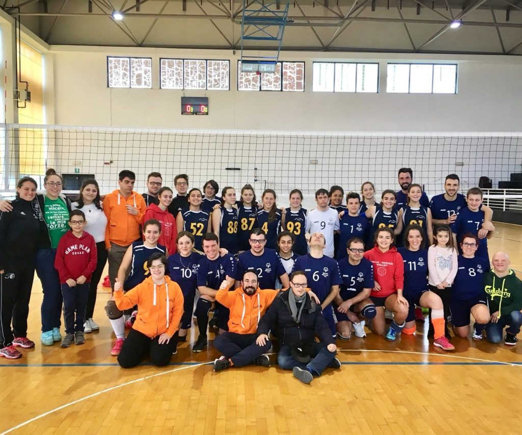volley week special olympics 2019